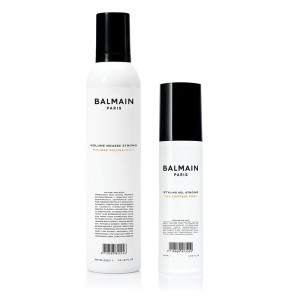 Volume Mousse Strong & Styling Gel Strong