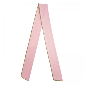 Limited Edition Silk Pastel Pink Hair Scarf SS20