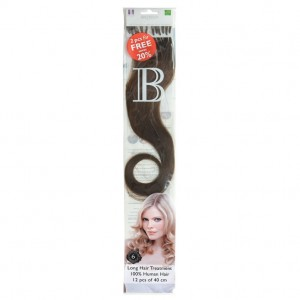 Fill-In Extensions Natural Straight (12pcs) 40cm