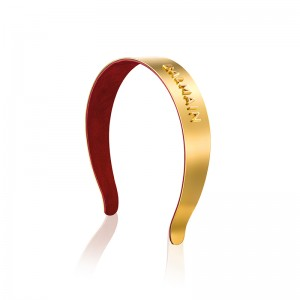 Limited Edition 18K Gold Plated Headband FW20