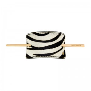 Hair Barrette Zebra