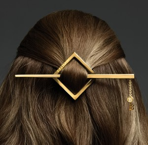 Limited Edition Barrette Pour Cheveux Jewellery Gold SS21
