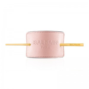 Limited Edition Pastel Pink Embossed Hair Barrette SS20