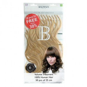 Fill-In Value Pack Natural Straight (50pcs) 25cm