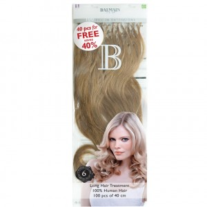 Fill-In Value Pack Natural Straight (100pcs) 40cm